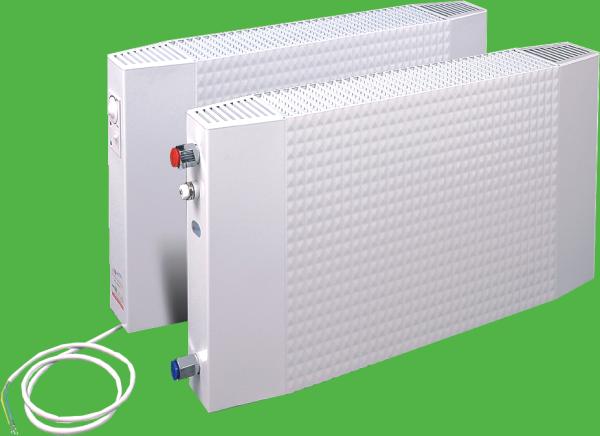 Grzejnik GCE 4/ 7, wodno-elektryczny (hybrydowy) – o mocy 834/400 [W] (dolnozasilany)