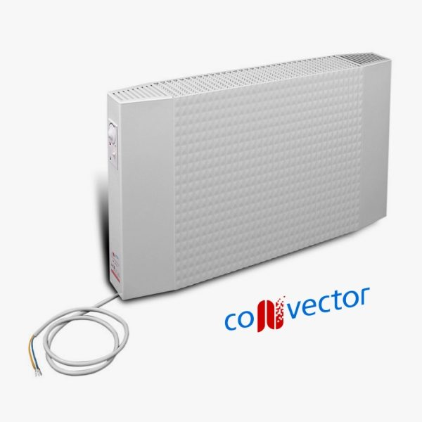 Grzejnik elektryczny GE 20/4/10 RAL 8004 – moc cieplna 2000 [W]